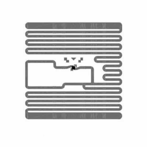 """RFID метка UHF ALIEN """"Square"""" ALN-9629, H3, wet white (22,5х22,5 мм.)"""