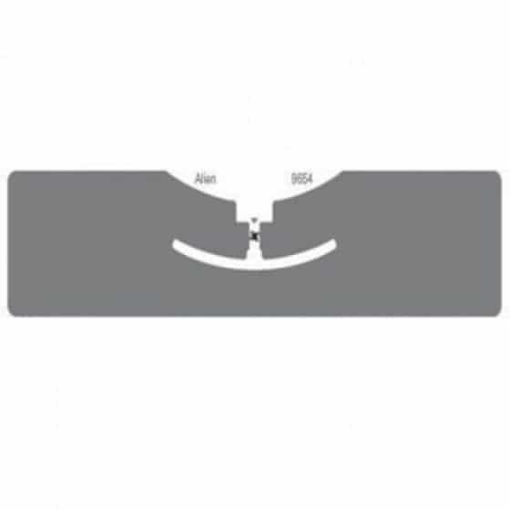 """RFID метка UHF ALIEN """"G"""" ALN-9654, H3, wet white (93,0х19 мм.)"""