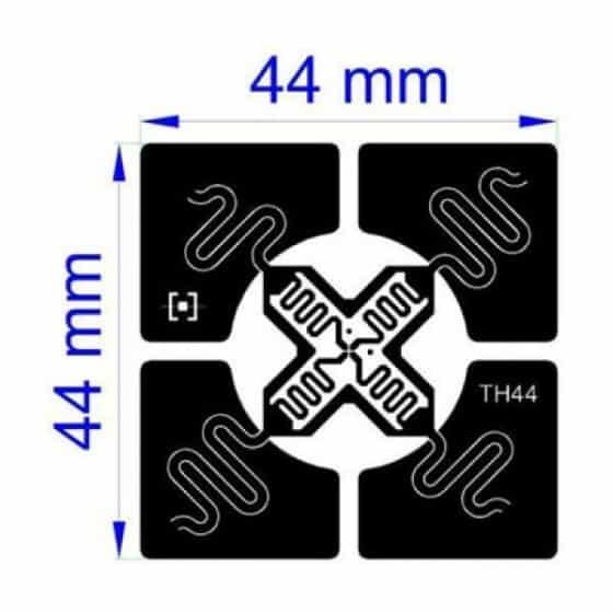 "Trace TH44 ""OMNI"" - самоклеющиеся RFID метки (M4D/M4QT/M4E) ТН44-PP-HT"